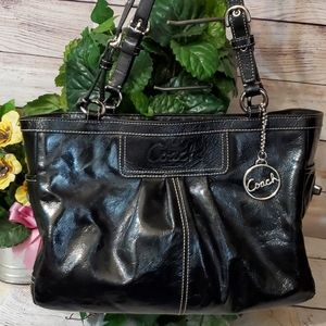 Coach Gallery Patent Leather Tote